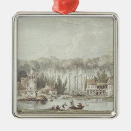 The Hameau, Petit Trianon, 1786 Metal Ornament