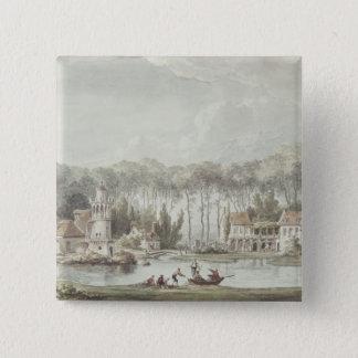 The Hameau, Petit Trianon, 1786 Pinback Button