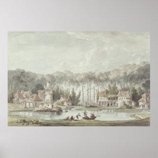 The Hameau, Petit Trianon, 1786 Poster