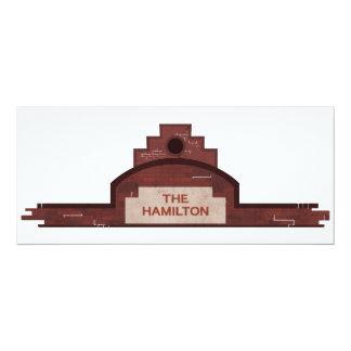the hamilton building card