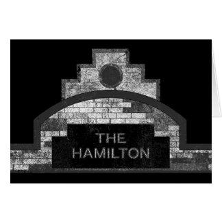 the hamilton card