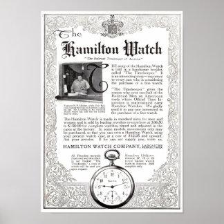 The Hamilton Watch ad print