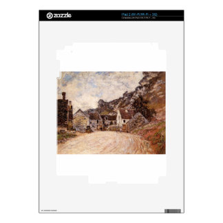The Hamlet of Chantemesie at the Foot of the Rock iPad 2 Skin