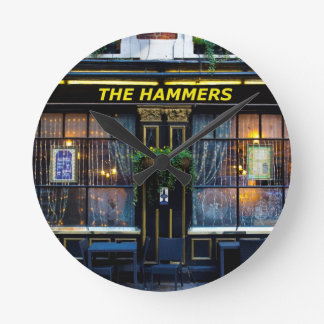 The Hammers Pub Wallclocks