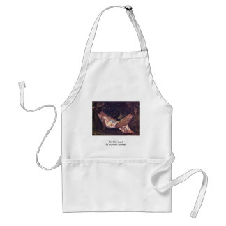 The Hammock By Gustave Courbet Adult Apron