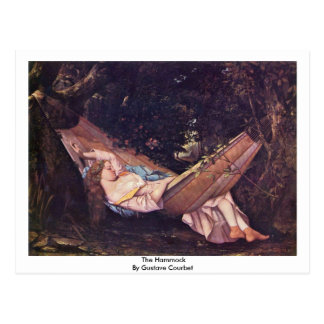 The Hammock By Gustave Courbet Postcard