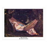 The Hammock By Gustave Courbet Postcards