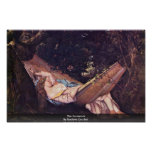 The Hammock By Gustave Courbet Print