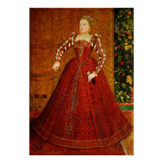 The Hampden Portrait of Elizabeth I of England Poster