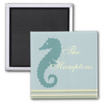 The Hamptons-Sea Horse Magnet