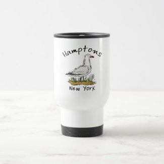 The Hamptons Travel Mug