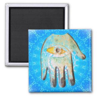 The Hamsa Hand God Evil Eye forprotection Magnet