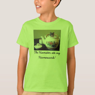 The Hamster ate my Homework! Boys T-Shirt