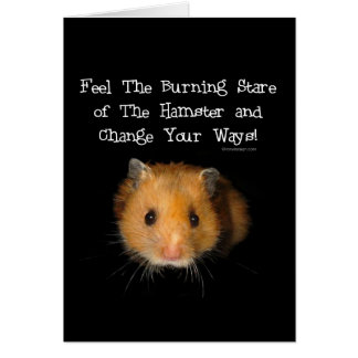 The Hamster Greeting Cards