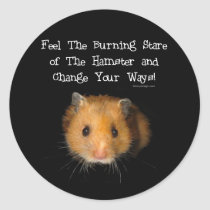 The Hamster Classic Round Sticker