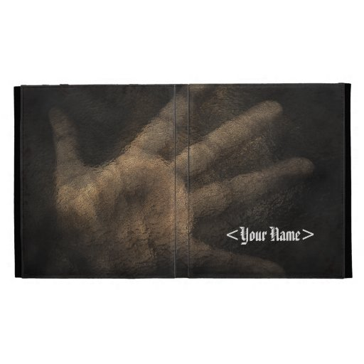 The Hand from Below iPad Case