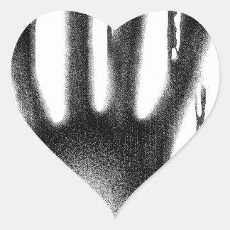 The Hand Heart Sticker