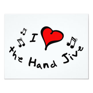 the Hand Jive I Heart-Love Gift Announcements