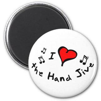 the Hand Jive I Heart-Love Gift Magnet