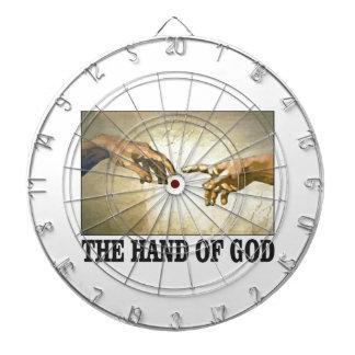 the hand of god dartboard