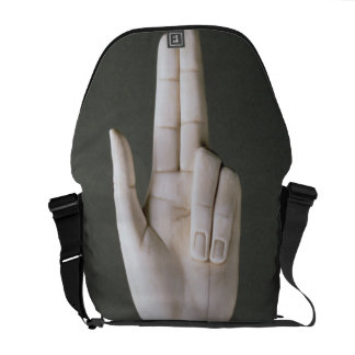The Hand of Justice, from the Treasure of St. Deni Courier Bags