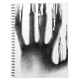 The Hand Spiral Notebook
