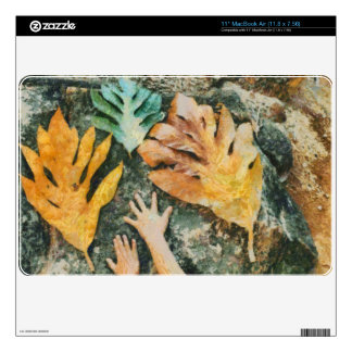 """The hands 2 decal for 11"""" MacBook air"""