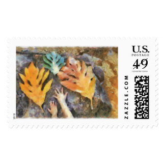 The hands postage