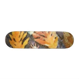 The hands skateboard deck