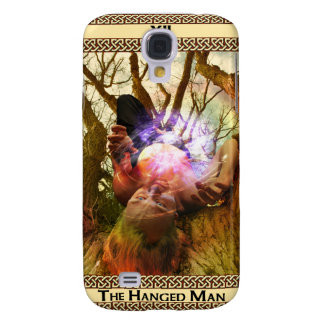 The Hanged Man Tarot Card Art Galaxy S4 Cover