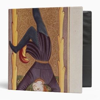 The Hanged Man, tarot card, French Binder