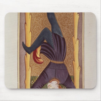 The Hanged Man, tarot card, French Mouse Pad
