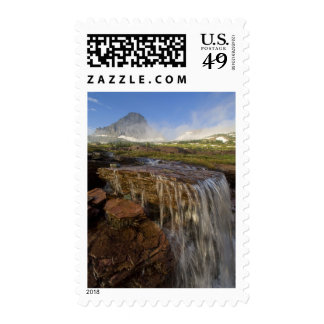 The Hanging Gardens at Logan Pass in Glacier Stamp