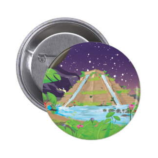 The Hanging Gardens of Babylon Pinback Button