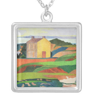 The Hangmans's House, c.1891 Silver Plated Necklace