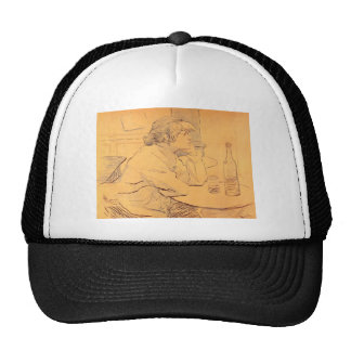 The Hangover by Toulouse-Lautrec Trucker Hat