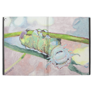 The Happiest Caterpiller On The Leaf iPad Pro Case