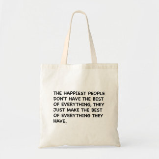 The happiest people Bag