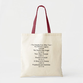 The Happily Ever After Tour mini tote bag
