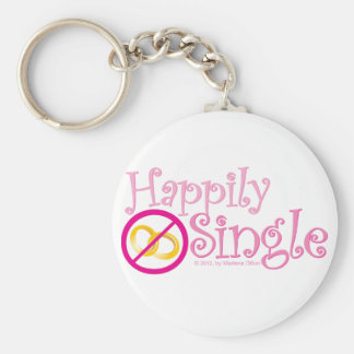 The Happily Single Collection by MDillon Designs Key Chains