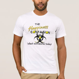 The Happiness Contagion Contagious smile Men's T-Shirt