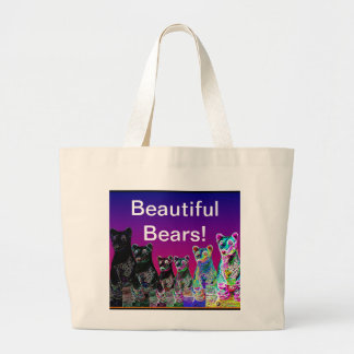 The Happiness Factory Spreads Joy Large Tote Bag