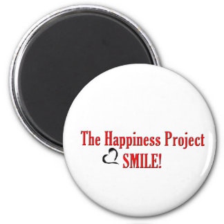 The Happiness Project: Smile! Magnet