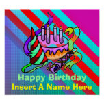 The Happy Birthday Poster