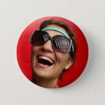 The Happy Bride Pinback Button