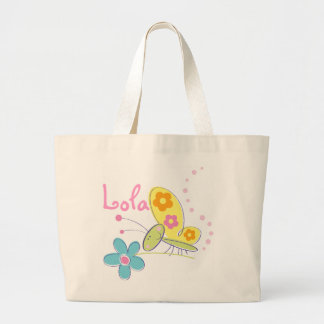 The Happy Butterfly Jumbo Tote Bag
