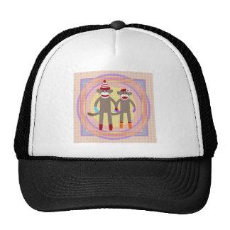 The Happy Couple. Mesh Hats