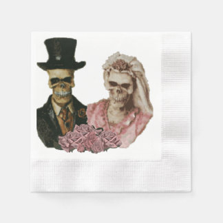 The Happy Couple Paper Napkin