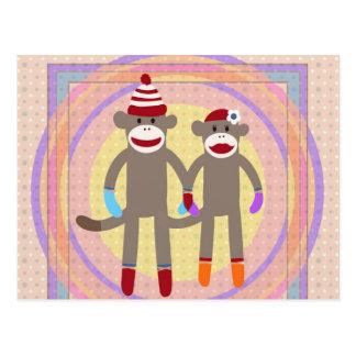 The Happy Couple. Postcard