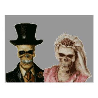 The Happy Couple Postcard